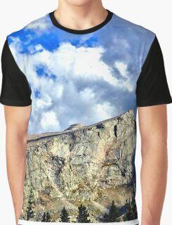 Sharp Rock Ridge Graphic T-Shirt