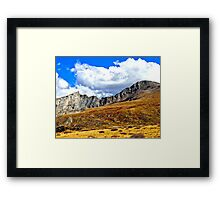 Rocky Mountain Summit Framed Print