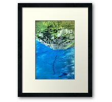 Ink Pots in Abstract Framed Print