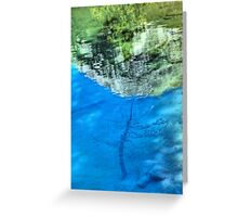 Ink Pots in Abstract Greeting Card
