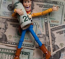 Woody Rollin in the Cash by TolgaCetin