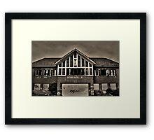 Autophobia - (Abandoned Building 4) Framed Print
