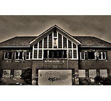 Autophobia - (Abandoned Building 4) Photographic Print