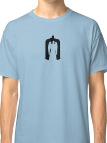 Weeping Angel with Tardis Classic T-Shirt