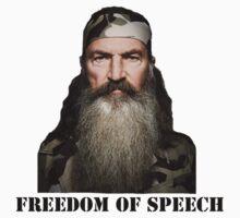 Freedom of Speech One Piece - Short Sleeve