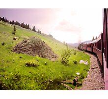 Train Ride Photographic Print