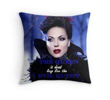 Lana Parrilla (Evil Queen ) Throw Pillow