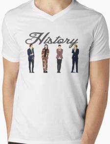 One Direction 9 Mens V-Neck T-Shirt