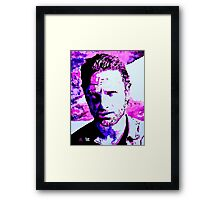 Walking Dead Rick Grimes Framed Print