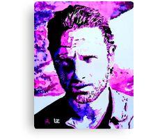 Walking Dead Rick Grimes Canvas Print