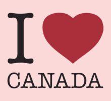 I ♥ CANADA Kids Clothes