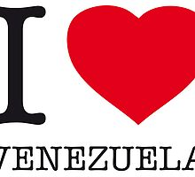 I ♥ VENEZUELA by eyesblau