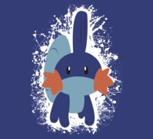 Mudkip Splatter by adhpv