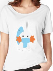 Mudkip Splatter Women's Relaxed Fit T-Shirt