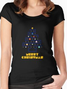 Merry Pac-Mas Women's Fitted Scoop T-Shirt