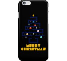 Merry Pac-Mas iPhone Case/Skin