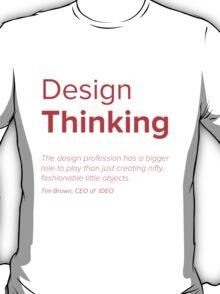 Industrial thinking design illustration t shirts for Industrial design t shirt