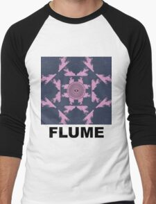 Flume - Album Cover.  Men's Baseball ¾ T-Shirt