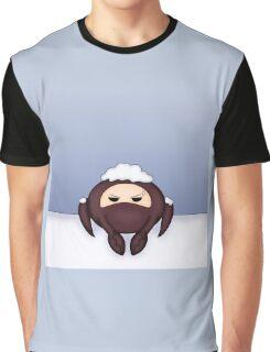 Red Spycrab Hates Snow Graphic T-Shirt