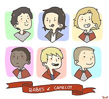 babes of camelot by kirk the jerk