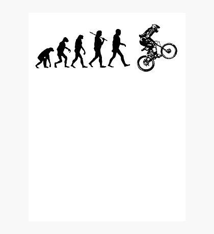 Biker Evolution Photographic Print