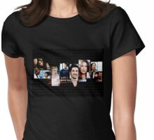 Grey's Anatomy-best cast Womens Fitted T-Shirt