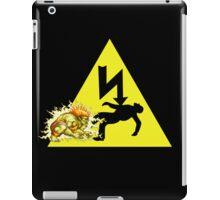 Danger of death v1 iPad Case/Skin