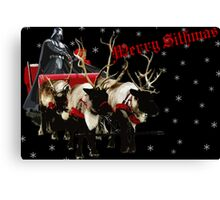 Merry Sithmas / With Snow - Remastered Canvas Print