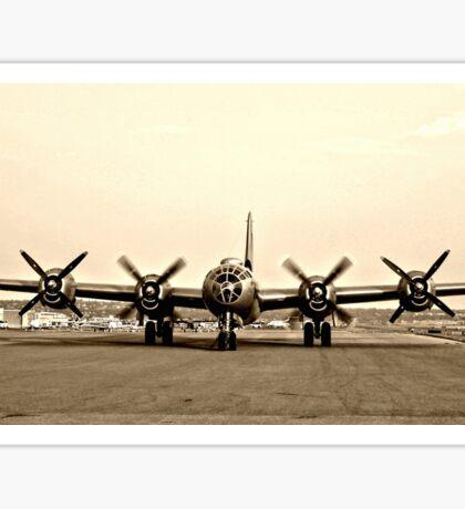 B-29 Bomber Plane - Classic Aircraft Sticker