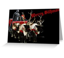 Merry Sithmas / Without Snow - Remastered Greeting Card
