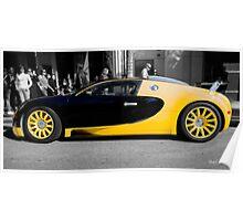 Bijan Bugatti Veyron Poster