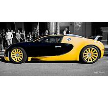 Bijan Bugatti Veyron Photographic Print