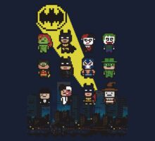 Gotham Heroes and Villains by nonsoloart