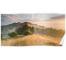 Malvern Hills Sunrise Poster