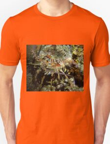 Caribbean Reef Lobster in Color Unisex T-Shirt