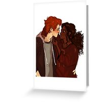 Ron Weasley & Hermione Granger  Greeting Card