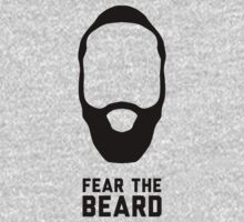 James Harden - Fear The Beard (NBA Houston Rockets) - Black by gsic