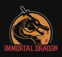 Inmortal Dragon - Shenron parody Kids Tee