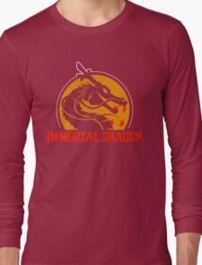 Inmortal Dragon - Shenron parody Long Sleeve T-Shirt