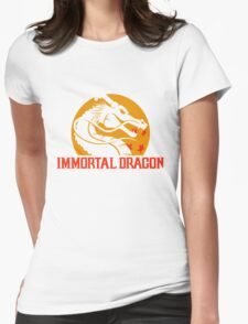 Inmortal Dragon - Shenron parody Womens Fitted T-Shirt