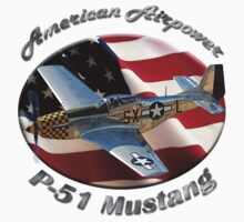 P-51 Mustang American Airpower Kids Clothes