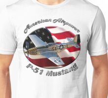 P-51 Mustang American Airpower Unisex T-Shirt