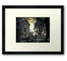Early Day At The Farm Framed Print