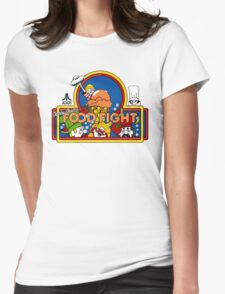Food Fight Womens Fitted T-Shirt