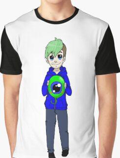Chibi Jacksepticeye and sam Graphic T-Shirt
