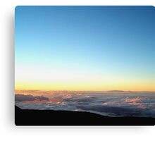 A River in the Clouds Canvas Print