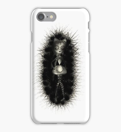 Tim Burton Styled Victorian Girl iPhone Case/Skin