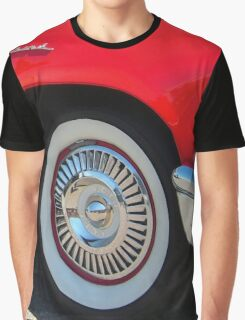 Red Ford Thunderbird - Classic Hot Rod Graphic T-Shirt