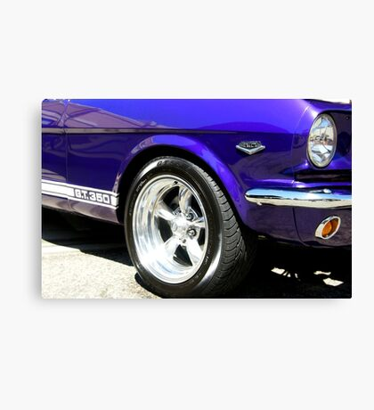 1965 Ford Mustang GT350 Muscle Car Canvas Print