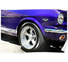 1965 Ford Mustang GT350 Muscle Car Poster